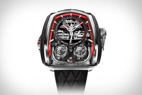 Jacob & Co Fast & Furious Twin Turbo Watch
