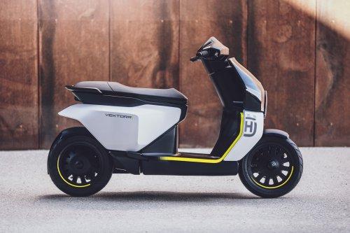 Husqvarna Vektorr Scooter Concept