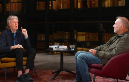 "Paul McCartney tells Bob Mortimer the bloody story behind ""Rocky Raccoon"""
