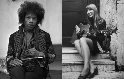 Joni Mitchell to release early coffee shop performance recorded by Jimi Hendrix