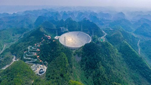 In China, a Telescope Offers Cosmic Data Amid Earthly Tensions