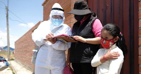 In Bolivia, Vaccination Brigades Go Door-to-Door to Reach Every Child