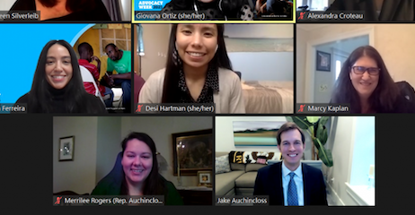 A Successful Virtual Advocacy Week for UNICEF USA