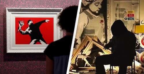 Banksy Loses Trademark To Two More Of His Iconic Works