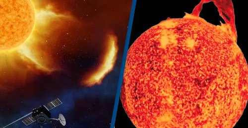 Solar Storm Travelling At 1,800,000km/h To Hit Earth Tomorrow