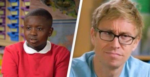 School Kid's Hilarious Boris Johnson Confusion Has Everyone Crying