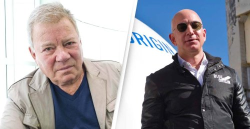 William Shatner Set To Become Oldest Man In Space Thanks To Jeff Bezos