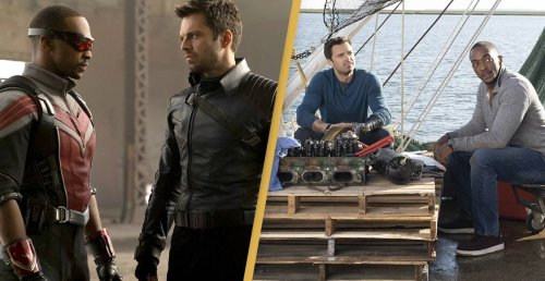 The Falcon And The Winter Soldier: Sam And Bucky Build A Boat
