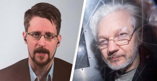 Edward Snowden Says Julian Assange 'Could Be Next' Following John McAfee's Death