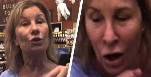Karen Who Was Filmed Coughing On People In Supermarket Loses Job