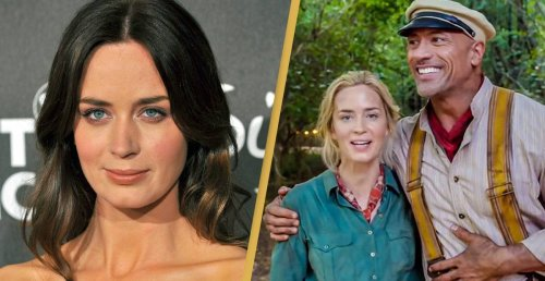 The Rock Publicly Outed Emily Blunt For Ghosting Him And Her Reply Is Savage