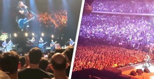 More Than 20,000 Attend Full Capacity Foo Fighters Concert In New York After Restrictions Lift
