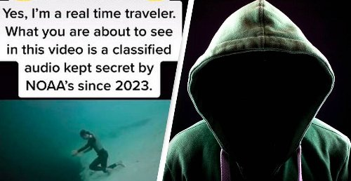 Time Traveller From Year 2582 Says Humans Shouldn't Worry About Aliens, But About Monsters Under The Sea