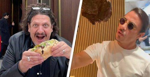 Food Critic Takes His Own Kebab To Tear Apart Salt Bae's Restaurant
