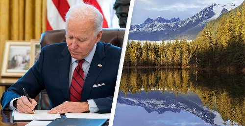 Biden Restoring Protections To America's Largest National Forest Stripped By Trump