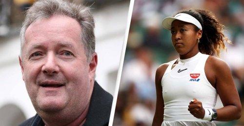 Piers Morgan Sparks Outrage With Naomi Osaka Tweet