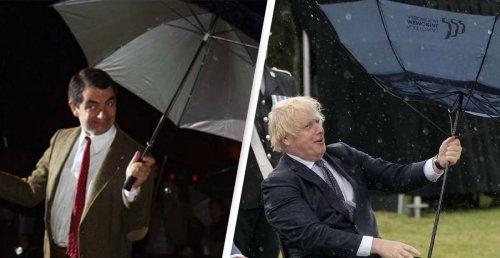 Hilarious Video Reveals That Boris Johnson Is Actually Mr Bean
