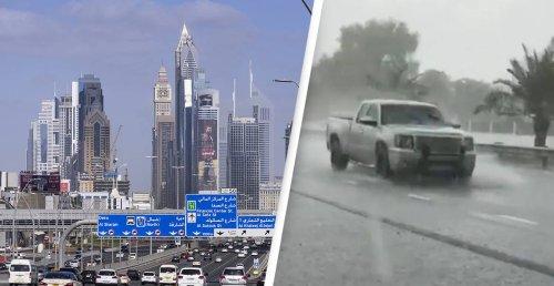 Dubai Is Creating Fake Rain To Battle 50°C Heat
