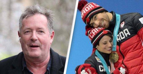 Piers Morgan Slammed After Patronising Bronze Medal Tweet