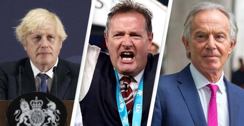 Piers Morgan Calls For Tony Blair To Take Over From Boris Johnson