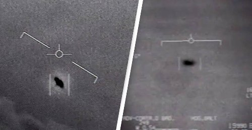 'Tic-Tac' UFO Filmed By US Navy Spotted Over England