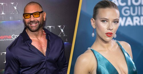 Dave Bautista Divides Fans With Scarlett Johansson Disney Lawsuit Joke