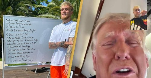 Jake Paul FaceTimes Donald Trump And Boasts About It On Instagram