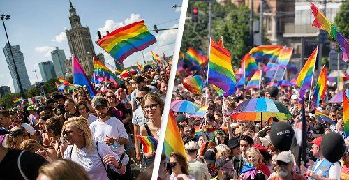 Thousands March In The Largest Gay Pride Parade In Central Europe