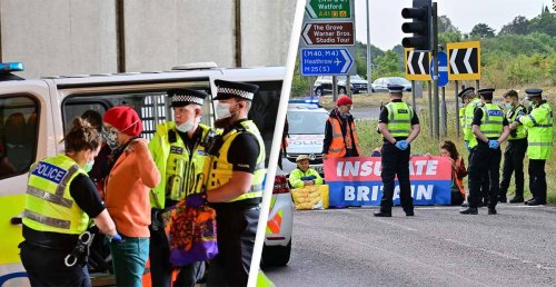 Fury As Insulate Britain Protesters Block The M25 For The Fifth Time