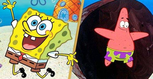 Marine Scientist Spots Real Life SpongeBob And Patrick Under The Sea