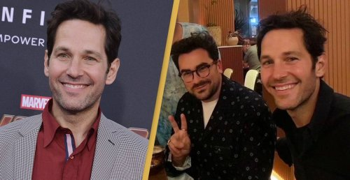 Paul Rudd Was Spotted Having Dinner With Dan Levy And Everyone Made The Same Joke