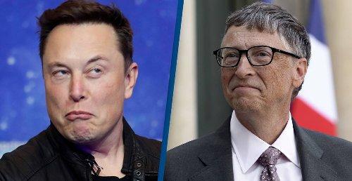 Elon Musk Makes Dig At Bill Gates With Anti-Vaxx Cartoon