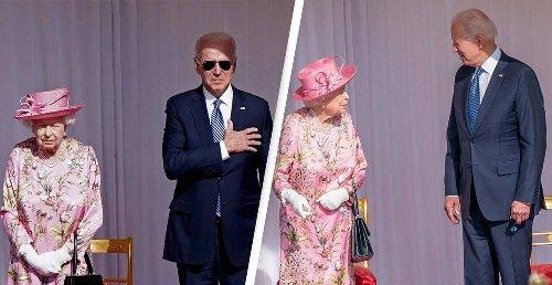 President Biden Broke Multiple Etiquette Rules When He Met The Queen