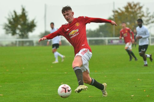 England youth international 'very happy' with first season at Manchester United academy despite injury KO