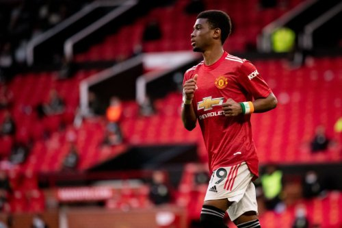 After breaking 15-year record, Amad has earned game time for United against Liverpool