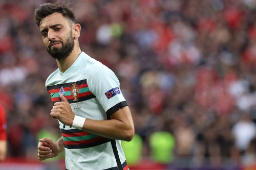 'MOTM'...Some Manchester United fans react to Bruno Fernandes' Portugal performance