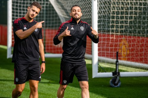 'Happy'... Manchester United star thrilled to return to training after two months out