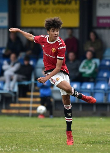 Ryan Giggs' son Zach Giggs features as Manchester United u16s win in Northern Ireland again