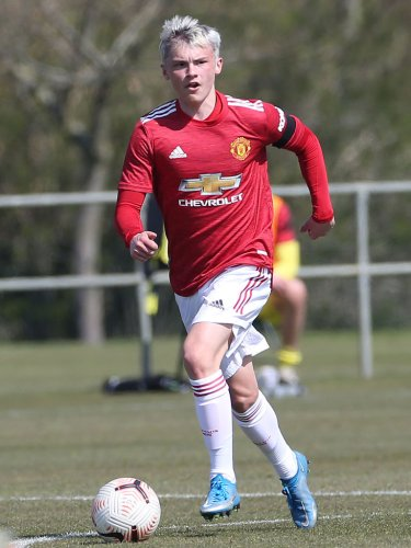 Manchester United wonderkid hopes to make first team debut before he is 18