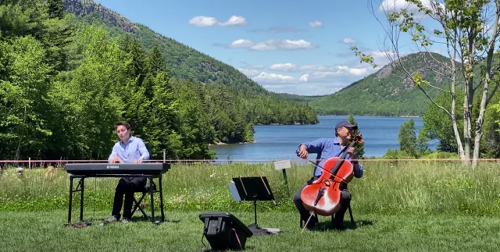VIDEO: Yo Yo Ma Performs Impromptu Concert @ Acadia National Park
