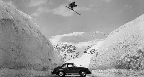 Porsche Recreates Iconic 1960s Ski Ad