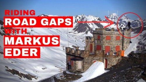 Markus Eder Sends Mental Road Gaps On High Alpine Pass