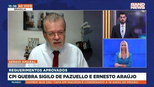 CPI da Pandemia aprova quebra de sigilo de Pazuello e Ernesto Araújo