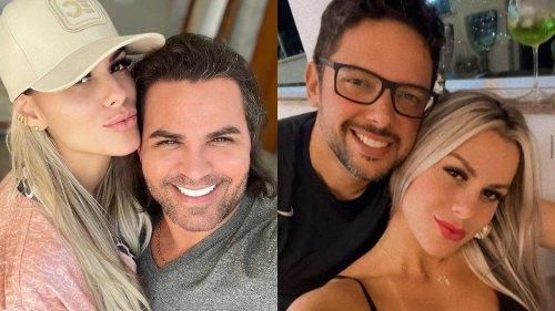 """Affair de Eduardo Costa enviou fotos com o cantor para o marido: """"Agora tenho um homem"""" – Veja as imagens e prints das conversas!"""