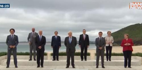 G7: Líderes de países ricos prometem doar 1 bilhão de doses de vacinas