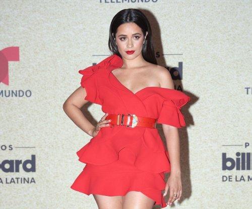 Camila Cabello, Bad Bunny attends the Latin Billboards red carpet - Slideshow