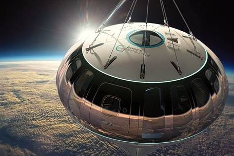 Balloon firm plans test to later take tourists to edge of space