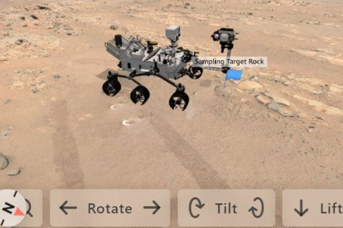 NASA offers new way to look at Mars rover images