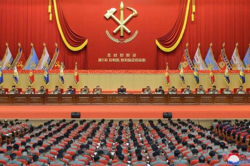 North Korea official seen not applauding for Kim Jong Un in recent photo
