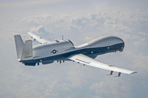 Navy tests MQ-4C unmanned aerial vehicles with upgraded sensors